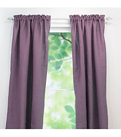 Chooty® Burlap Rod Pocket Window Curtain