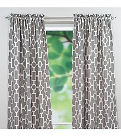 Chooty® Ellington Smoke Rod Pocket Window Curtain