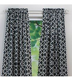 Chooty® Woburn Slate Rod Pocket Window Curtain