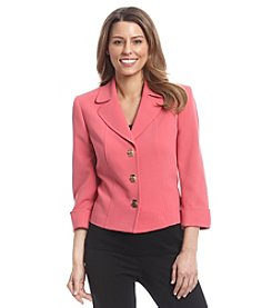 Tahari by Arthur S. Levine® Ponte Turnlock Jacket