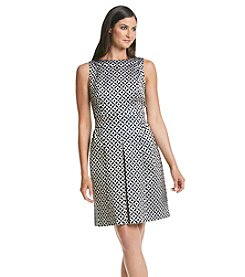 Lauren Ralph Lauren® Metallic Jacquard Sheath Dress