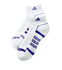 adidas® 2 Pack Climalite Low Cut Socks