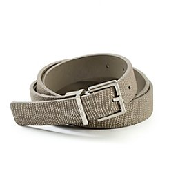 Calvin Klein Reversible Lizard Embossed Belt