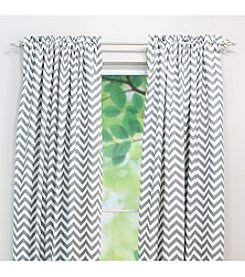 Chooty® Zig Zag Rod Pocket Window Curtain