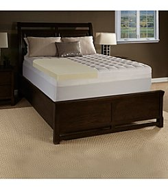 Future Foam™ Comfort Loft Memory Foam and Fiber Mattress Topper