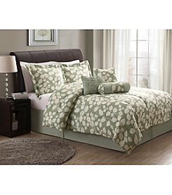 Lifestyles Sage Leaf 7-pc. Comforter Set