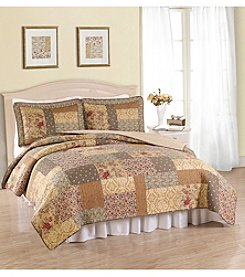 American Traditions® Heather 3-pc. Quilt Set
