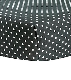 Trend Lab Bedtime Grey Dot Crib Sheet