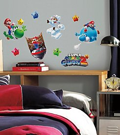 RoomMates Wall Decals Nintendo® Mario Galaxy 2 Peel & Stick Wall Decals