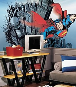 RoomMates DC Comics™ Superman Pre-pasted Mural