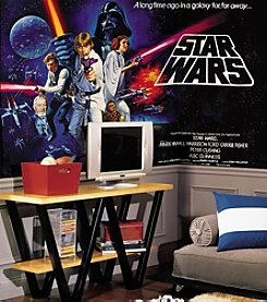 RoomMates Wall Decals Star Wars™ Classic Prepasted Mural