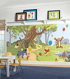 RoomMates Wall Decals Pooh and Friends Prepasted Mural