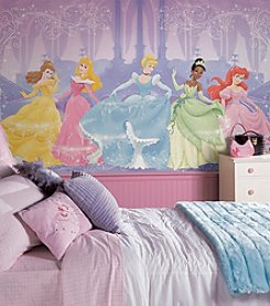 RoomMates Wall Decals Perfect Princess Prepasted Mural