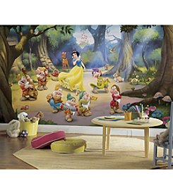 RoomMates Wall Decals Snow White and the Seven Dwarfs Prepasted Mural
