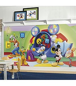 RoomMates Wall Decals Mickey and Friends Clubhouse Capers Prepasted Mural
