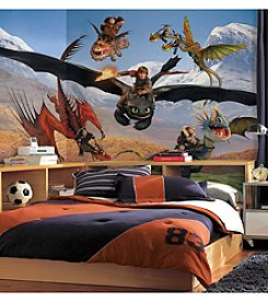 RoomMates Wall Decals How to Train Your Dragon Prepasted Mural