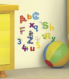 RoomMates Lazoo Alphabet Peel and Stick Wall Decals