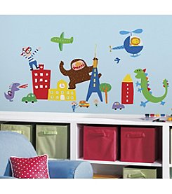 RoomMates Lazoo Boy Peel and Stick Wall Decals
