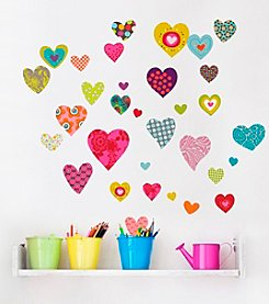 RoomMates Rialto Hearts P&S Wall Decals