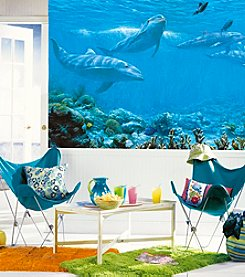 RoomMates Wall Decals Dolphin Prepasted Mural