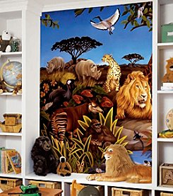 RoomMates Wall Decals Jungle Prepasted Mural