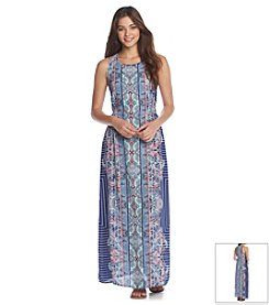 Romeo & Juliet Couture® Boho Printed Maxi Dress