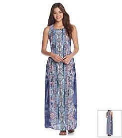 Romeo & Juliet Couture® Boho Printed Maxi Dress