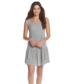 Olive & Oak Outfitters® Flutter Ribbed Knit Dress