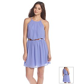 A. Byer Tank Belted Dress