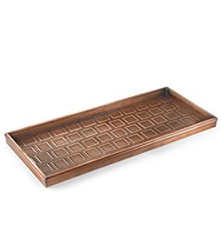 Good Directions® Venetian Bronze Squares Boot Tray