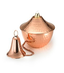 Good Directions® 4-pk. Polished Copper Oil Lamps