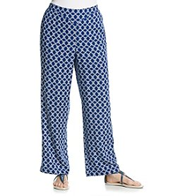 Alfred Dunner® Catalina Island Printed Pull On Pant