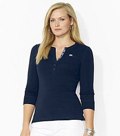 Lauren Jeans Co.® Plus Size Pocket Henley