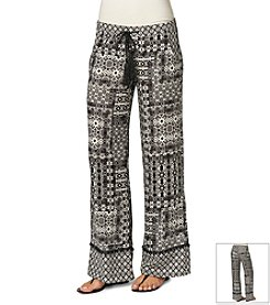 Democracy Printed Woven Pant
