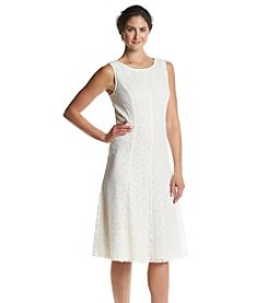 Kasper® Lace Mesh Dress