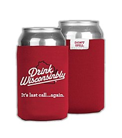 30 Watt Drink Wisconsinbly™ Red Coozie