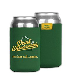 30 Watt Drink Wisconsinbly™ Green Coozie