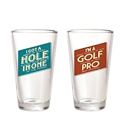 30 Watt Bogey Pro® 2-pk. Pint Glasses