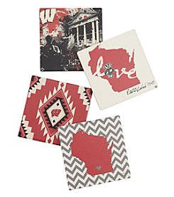 Thirstystone® University of Wisconsin Spirit Set of 4 Coasters