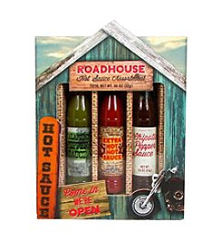 Roadhouse 3-pk. Roadhouse Hot Sauce Set