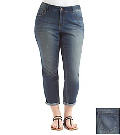 Jessica Simpson Plus Size Forever Crop Jeans