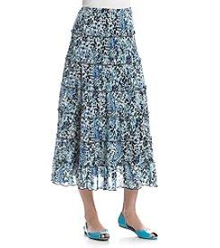 Chaus® Cheetah Maxi Skirt