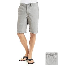 DKNY JEANS® Men's Ripstop Flat Front Shorts