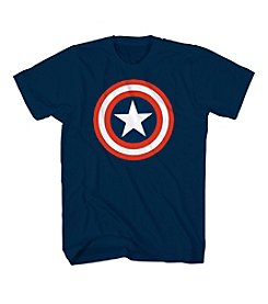Mad Engine Men's 80's Captain America Tee