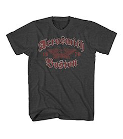 Mad Engine Men's Aerosmith Boston Gothic Tee