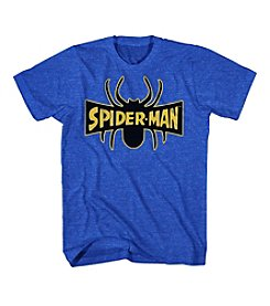 Mad Engine Men's Spider-Man Legs Logo Tee