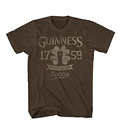 Mad Engine Men's Collegiate Clover Luck Guinness Tee