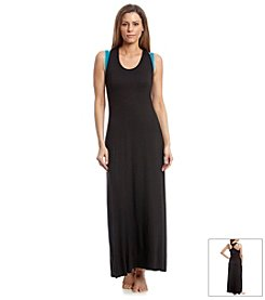 Calvin Klein Solid Maxi Cover Up Dress