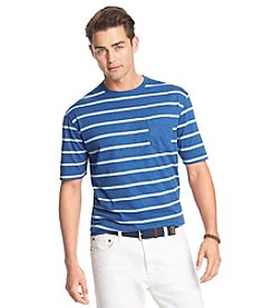 Izod® Men's Short Sleeve Auto Stripe Pocket Tee