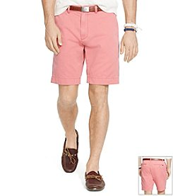 Polo Ralph Lauren® Men's Greenwich Chino Suffield Flat Front Shorts
